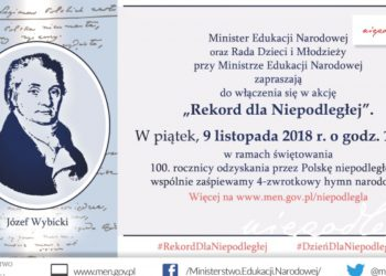 Dla Niepodległej: obchody 100-lecia Niepodległości Polski