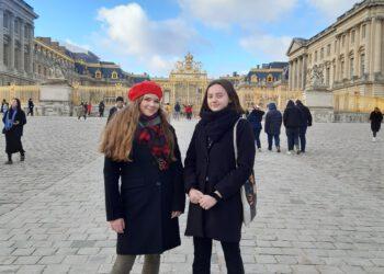 Nasze uczennice w liceum francuskim
